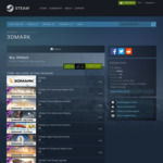 [PC, Win] 3D Mark Advanced Edition 85% off: A$6.44 @ Steam
