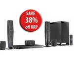 Panasonic Full HD 3D Blu-Ray Home Theatre System SC-BTT370GNK for $490
