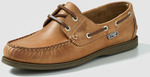 Leather Boat Shoe Oatmeal $5 (Sizes 7/14 SOLD OUT), $10 Sz 12(13 SOLD OUT)  + Shipping (Free over $40 Spend) or Pickup @ Rivers