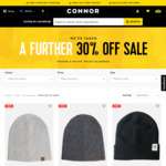 Scarves $3.49 and Beanies (Sold Out) @ Connor (Free C/C or + Delivery)