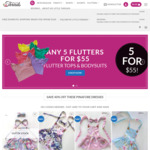 40% off Girls Skirts and Pinafore Dresses + Shipping (Free with $120 Spend) @ My Little Threads