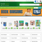 Save up to 75% Off RRP on Thousands of Books @ Booktopia