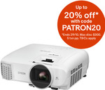 Epson Full HD Home Theatre Projectors: EHTW5600 and EHTW6700 for $796 and $1,595 Respectively + Delivery @ Video Pro eBay