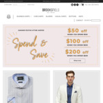 Spend $150 and Save $50, Spend $300 and Save $100, Spend $500 and Save $200 @ Brooksfield Australia