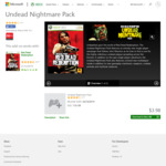 [XB1, XB360] Red Dead Redemption Undead Nightmare DLC $3.98 @ Microsoft Store