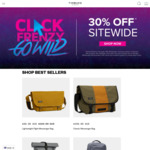 30% off Sitewide: Includes Messenger Bags, Travel Bags & More @ Timbuk2