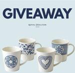 Win a Royal Doulton ED Ellen DeGeneres Porcelain Mug Set from Mega Boutique