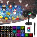 Christmas Projector Light with 10 Colorful Slides $30.99 + Delivery ($0 with Prime/ $39 Spend) @ Renogy Amazon AU