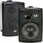 "Dual Electronics LU43PB 4"" Bookshelf Speakers - $48.23 + Delivery ($0 with Prime) @ Amazon US via AU"