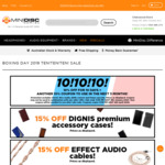 Minidisc Boxing Day Sale: 10% off Now + 10% Coupon for Another Purchase within 3 Months