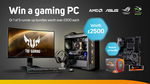 Win a Gaming PC & ASUS Monitor/Peripherals Worth Over $4,700 from Scan