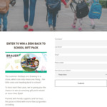 Win a Back-to-School Prize Pack Worth $506.61 from Brauer