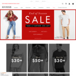 Further 25% off Sale Styles @ GUESS