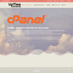 60% off cPanel Web Hosting, Valid for 1 Year from $14.40 or 2 Years from $28.80 @ UpTime Web Hosting