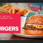 [SA] Grain Fed Beef or Vegan Burgers $1 (First 150 Each Day) @ Hello Harry (Adelaide) via Eatclub (New Users)
