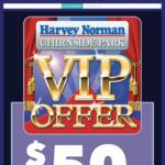 [VIC] $50 off $200 Spend at Harvey Norman (Chirnside Park)