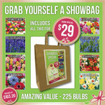 Garden Express Spring Showbag - 225 Spring Flowering Bulbs $29 + $10 Delivery ($14 for TAS, NT, WA)