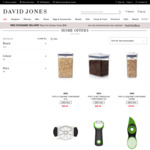 40% off OXO Brand + Delivery (Free over $50) @ David Jones