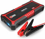 GOOLOO Upgraded 2000A Peak SuperSafe Car Jump Starter USB QC3.0, Battery Booster Power Type-C $98.99 Delivered @ Amazon AU