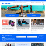 25% off Brooks Running Shoes @ Brooks
