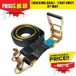 Guardall 2500kg Ratcheting Strap $9.95 (Was $16) + Delivery or Free C&C @ Total Tools