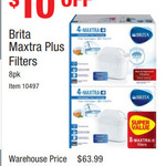 Brita Maxtra Water Filter Cartridge 8pack $54 ($6.75 Each) @ Costco (Membership Required)