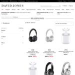 Extra 10% off Selected Sale Earphones/Headphones (e.g. Bose SoundSport Free $179.10, QC20 Android $240.30) @ David Jones