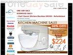 Kenwood Kitchen Machine - KM300 Refurb $224.00 + $27 Shipping