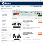 30% off RRP, Brand New, 4K DVR Security with Spotlights & Siren $739.95 Delivered @ Swann
