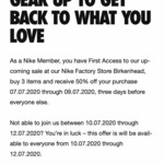 Buy 3 Items and Receive 50% off Your Purchase @ Nike DFO