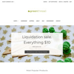 Liquidation Sale: Everything $10 + $10 Shipping Per Order - Organic Cotton Business Shirts, Bamboo Underwear @ Green Thread