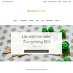 Liquidation Sale: Everything $10 + $10 Shipping Per Order - Organic Cotton Business Shirts, Bamboo Underwear @ Green Thread