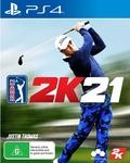 [PS4, XB1] PGA Tour 2K21 for $68 @ Harvey Norman / Amazon AU