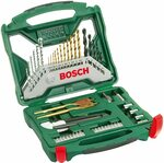 Bosch 50-Piece X-Line Titanium Drill & Screwdriver Bit Set (For Wood, Masonry & Metal) $24.90 + Delivery ($0 Prime) @ Amazon AU