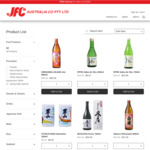 [VIC] Up to 43% off Selected Sake and Shochu | $9 Delivery or Free $150+ @ JFC Online