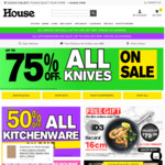 [VIC] 15% off Sitewide with No Minimum Spend (Conditions Apply) @ House.com.au