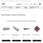 Peak Design Camera Accessories - Hand Strap from $50.15 (15% off) + Free Shipping @ Lectory