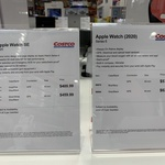 [VIC] Apple Watch Series 6 40mm $575, 44mm $625 @ Costco, Docklands (Membership Required)