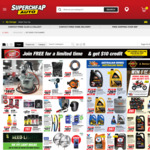 Free Club Plus Membership (Was $5) with Free $10 Credit @ Supercheap Auto (in Store)