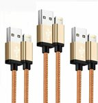 HARIBOL iPhone Charger Cable Lightning Cable (3pack 2m) $15.97 + Post ($0 with Prime/ $39 Spend) @ HARIBOL Amazon AU