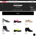 Camper Shoes up to 40% off and Free Shipping