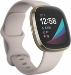 Fitbit Sense Smart Fitness Watch White and Gold $420 Delivered @ Amazon AU