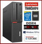 [Refurb] Lenovo ThinkCentre M900 i5-6600 DDR4 8GB 256GB SSD Win10Pro $349 Delivered @ Melbourne-eStore eBay