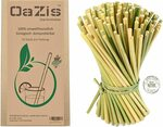 Organic Grass Straws (Reusable/Disposable) 50pk (13cm) $8.99 + Delivery ($0 with Prime/ $39 Spend) @ Oazis via Amazon AU