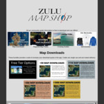 Offline Sat Maps for Boats QLD $10 (Was $20), Aus Wide $17.50 (Was $35) - Most 50% off @ Zulu Map Shop