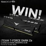 Win 1 of 5 Team T-Force Dark Za 32GB DDR4 Memory Kits Worth $199 from PC Case Gear