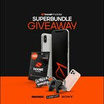 Win 1 of 3 iPhone X (Refurbished) & Sony Headphone Bundles from Boost Mobile