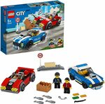 LEGO City Police Highway Arrest 60242 Police Toy $15 + Delivery ($0 with Prime/ $39 Spend) @ Amazon AU