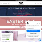 10% off All Items, All Top and Leggings Sets up to 35% off + Delivery ($0 with $50 Spend) @ Activewear-Australia