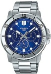 Casio Mtp-Vd300d-2E Analog Stainless Steel Watch $52 + Delivery ($0 with First) @ Kogan